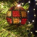 Χριστουγεννιάτικη Μπάλα καρό