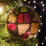 Abstract Χριστουγεννιάτικη Μπάλα