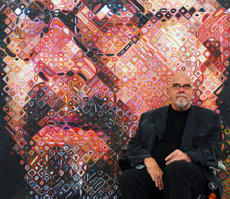 Chuck Close: Δυσλεκτικός καλλιτέχνης